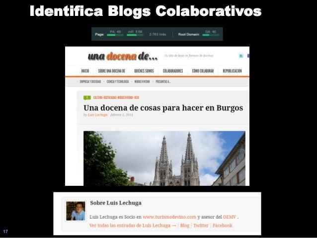 17 Identifica Blogs Colaborativos
