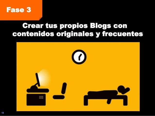 18 Fase 3 Crear tus propios Blogs con contenidos originales y frecuentes