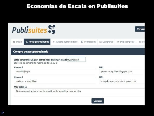 47 Economías de Escala en Publisuites