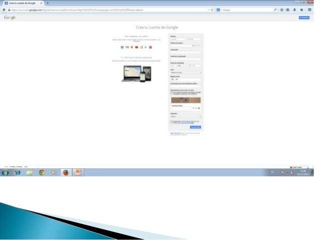 Crear una cuenta en blogger Slide 3
