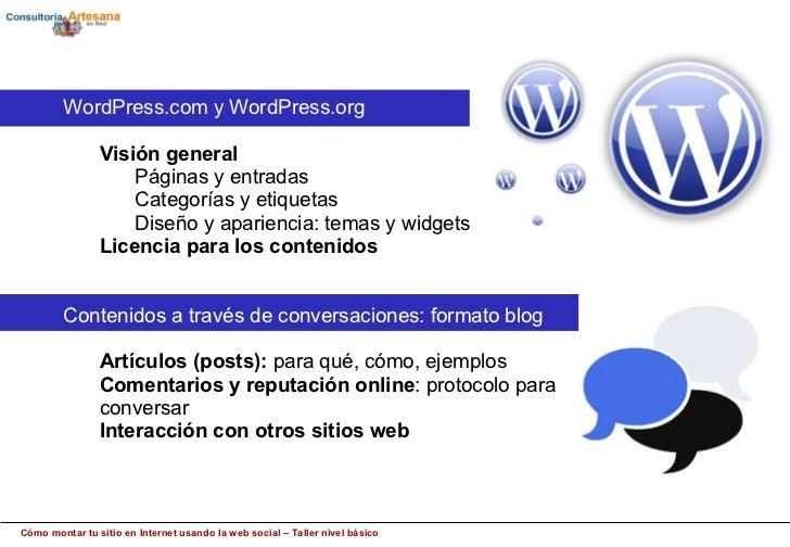 Cómo montar tu sitio en Internet con wordpress– Deporte y Web Social