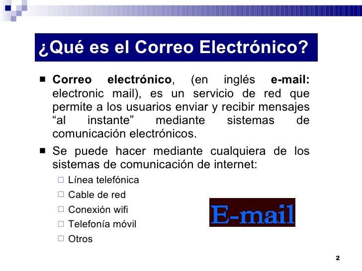 Crearygestionarcorreoelectronico Slide 2