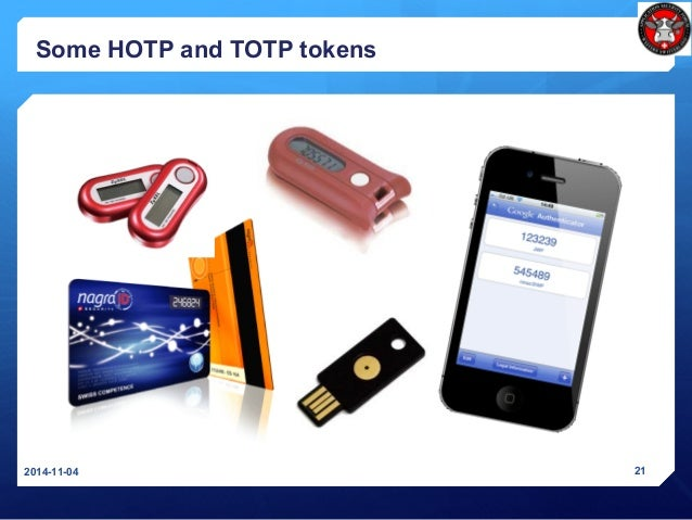 Some HOTP and TOTP tokens 2014-11-04 21