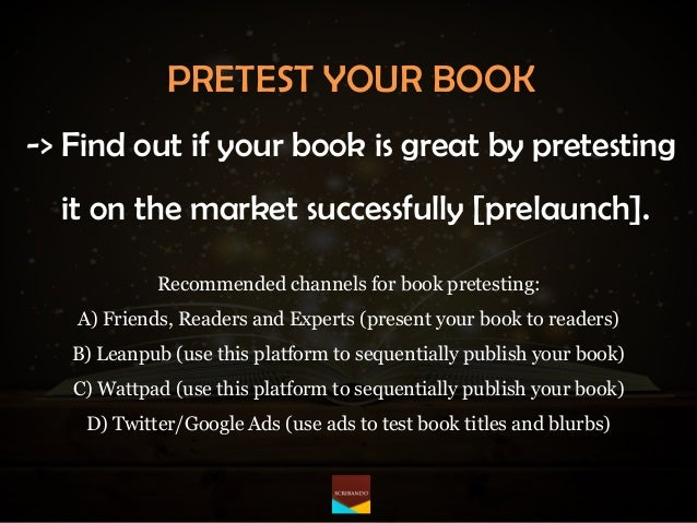 How to sell 1,000 books [and more] by mastering the