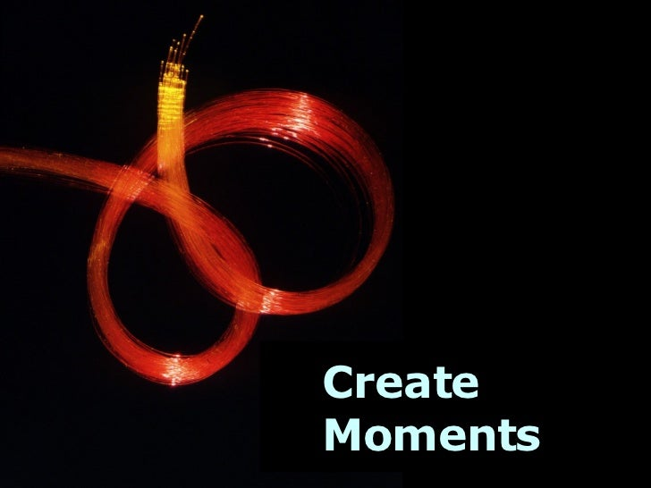Create Moments