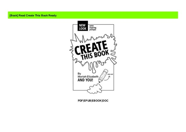 Read Create This Book Ready