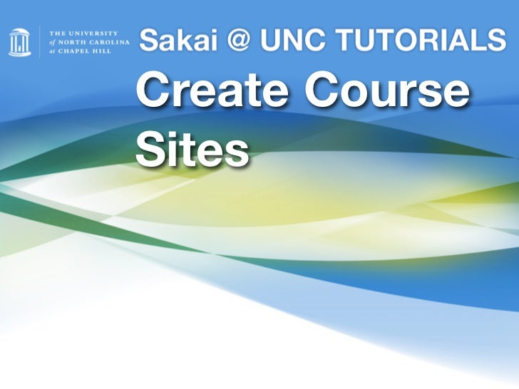 Create CourseSites