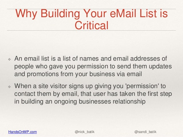 Create and manage newsletters from your word press site Slide 3