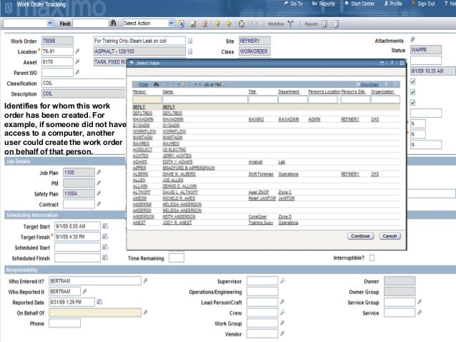 how to create work order in sap