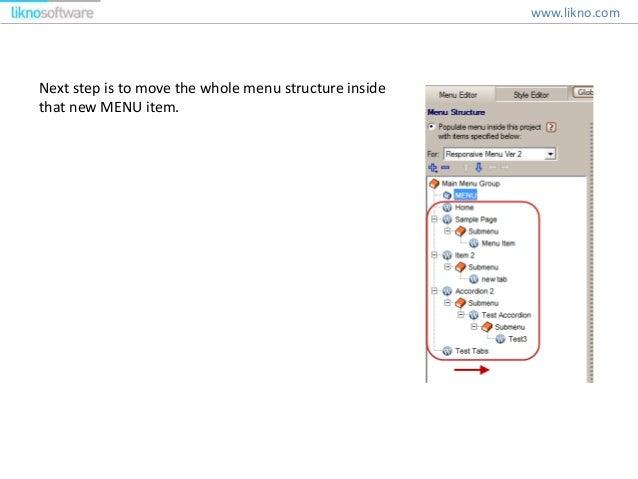 how to create submenu in wordpress