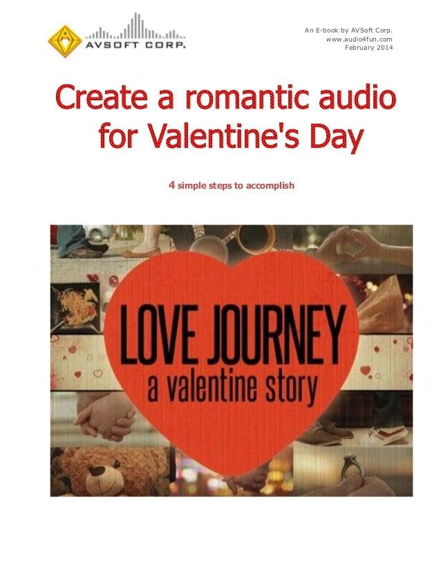 An E-book by AVSoft Corp. www.audio4fun.com February 2014  4 simple steps to accomplish