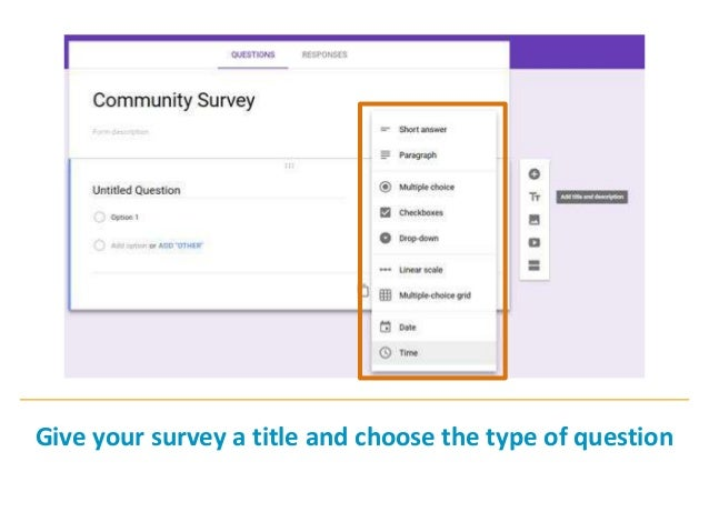 Create a survey using google forms ccuart Gallery