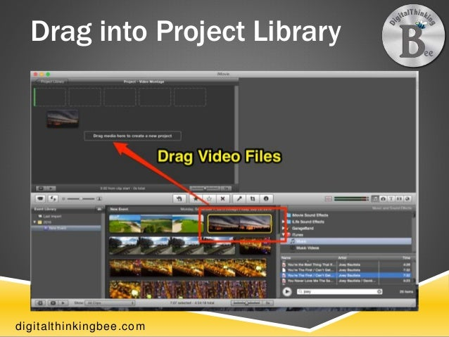 How To Create A Video Montage With iMovie - Belinda