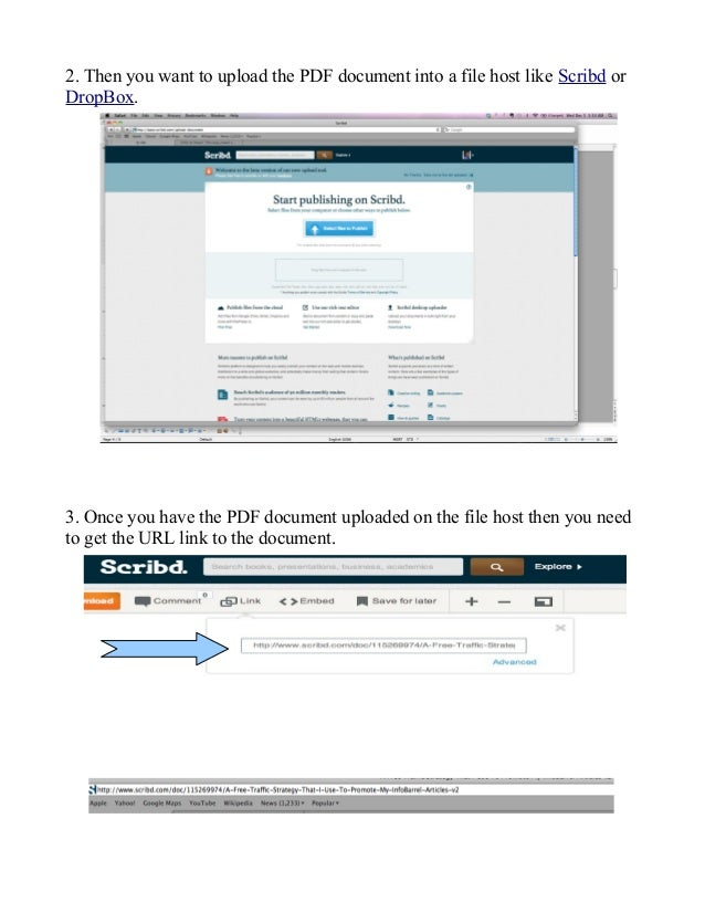 how to create link to a pdf document