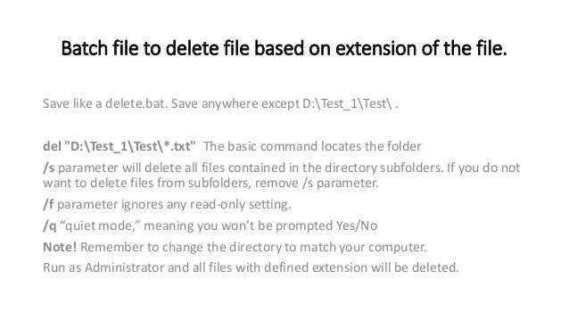 write a batch file to copy a folder