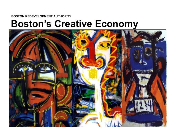 BOSTON REDEVELOPMENT AUTHORITYBoston's Creative Economy                                 November, 2004