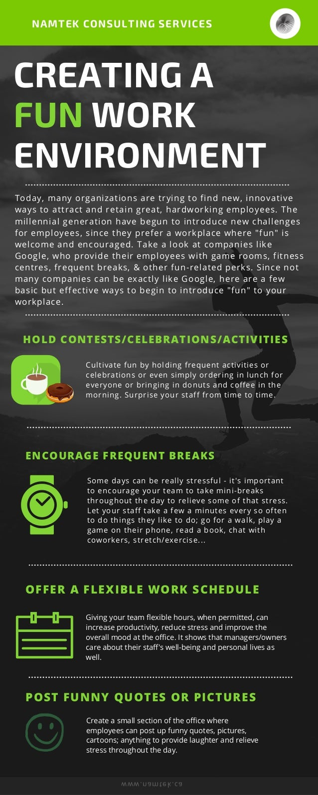 How To Create A Fun Workplace