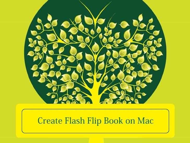 Create Flash Flip Book on Mac