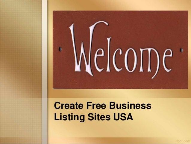 Create Free Business Listing Site USA