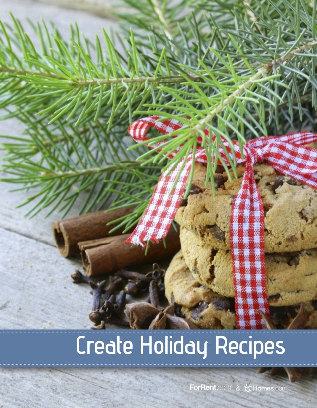 Create Holiday Recipes &
