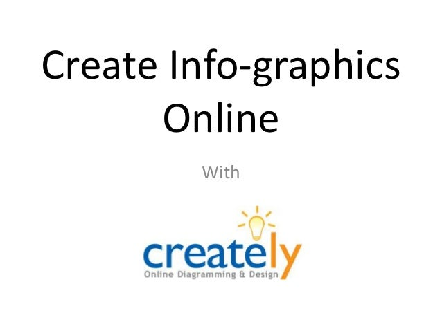 Create Info-graphics      Online        With