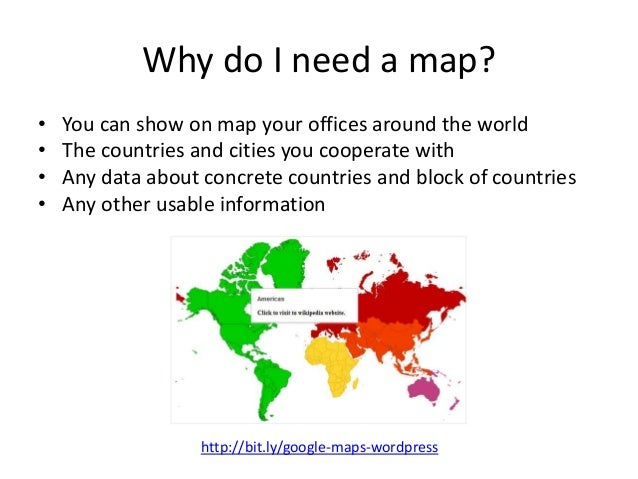 Create interactive world maps for wordpress google maps for wordpress httpbitgoogle maps wordpress 2 sciox Images
