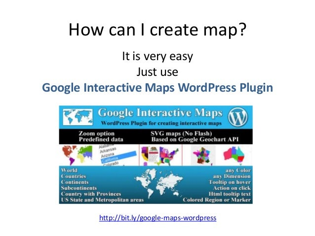 Create interactive world maps for wordpress sciox Images