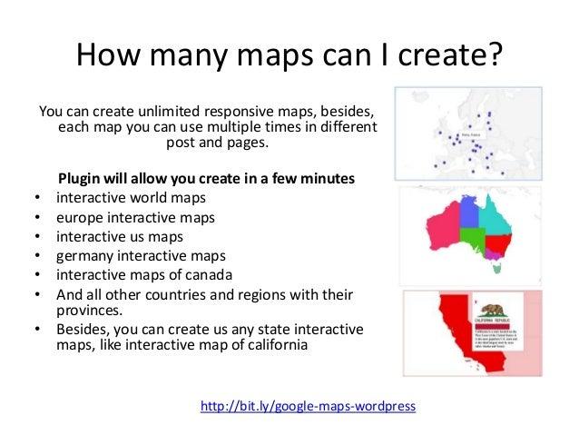 Create Interactive World Maps For Wordpress - Wordpress interactive us map