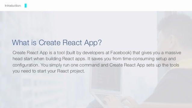 Making Create React App your best friend - React Summit 2018 Slide 2