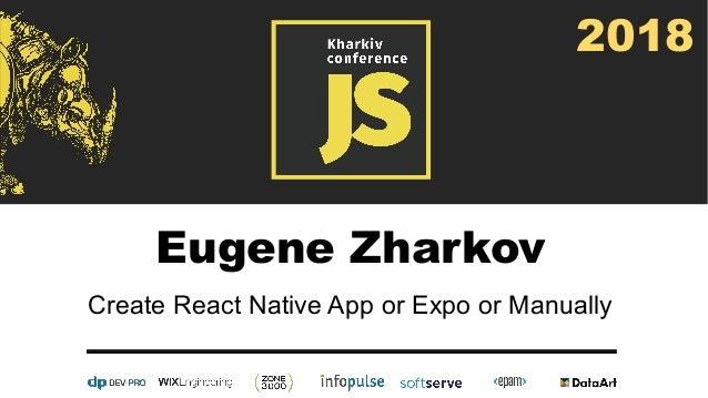 Create React Native App vs Expo vs Manually