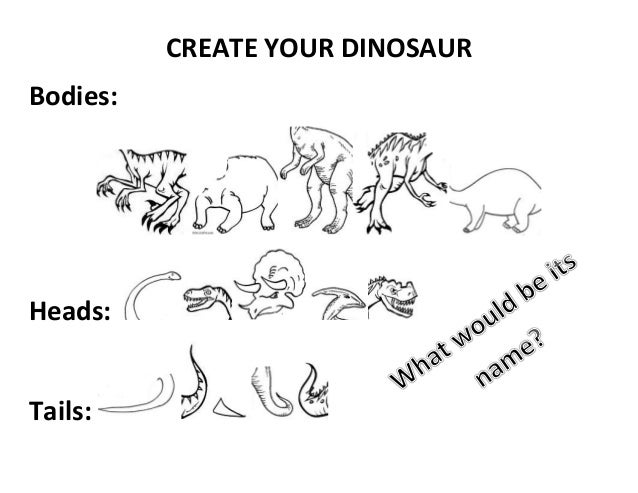 Create your dinosaur