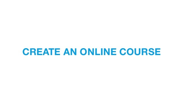 How to create your online course for Draw online share