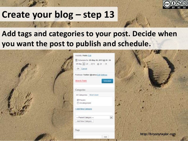 how to create your own blog website for free