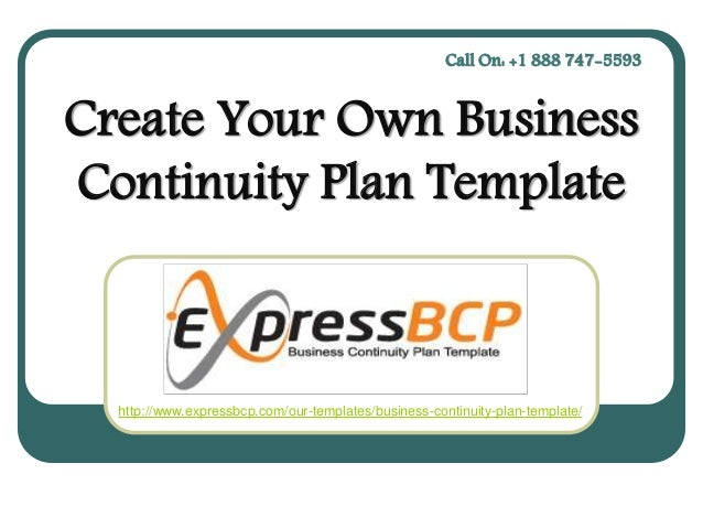 Create Your Own Business Continuity Plan Template