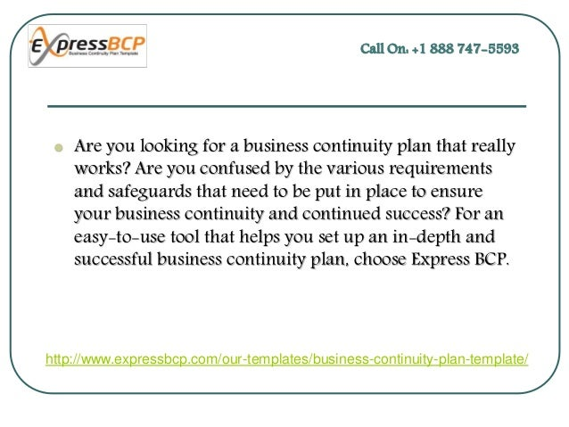 business resumption plan template - create your own business continuity plan template