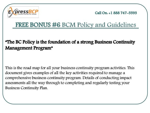 Create your own business continuity plan template 9 friedricerecipe Images