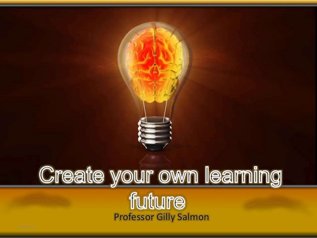 Professor Gilly Salmon 25/11/16 1