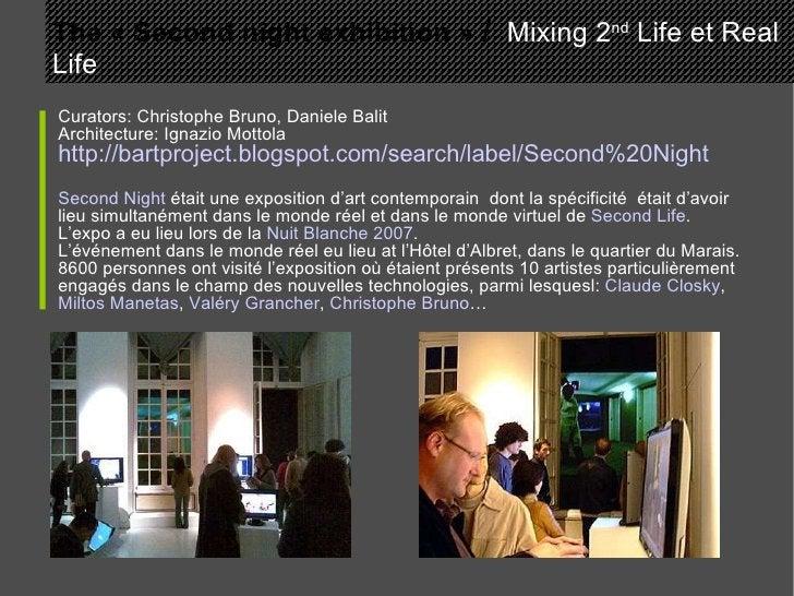 Curators: Christophe Bruno, Daniele Balit Architecture: Ignazio Mottola http://bartproject.blogspot.com/search/label/Secon...