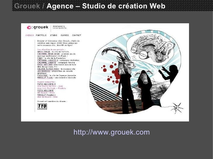 Grouek /  Agence – Studio de création Web http://www.grouek.com