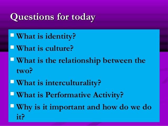 Creating Spheres of Interculturality through Paerformative Activity Slide 2