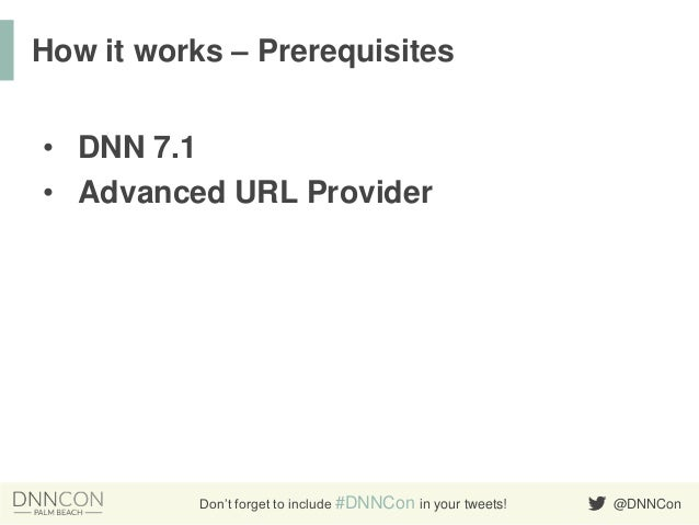 Creating URL Providers for your Custom Extensions Slide 3