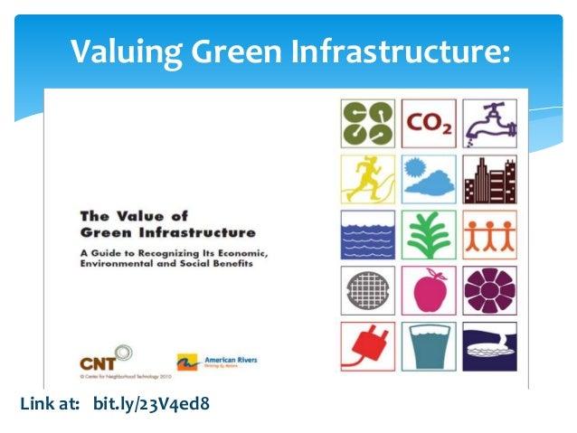 Valuing Green Infrastructure: Link at: bit.ly/23V4ed8