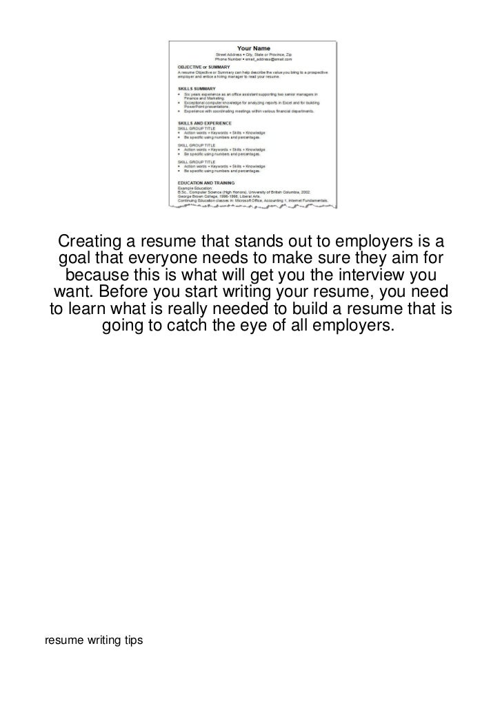 Creating a resume that stands out to employers is a goal that everyone needs to make sure they aim for  because this is wh...