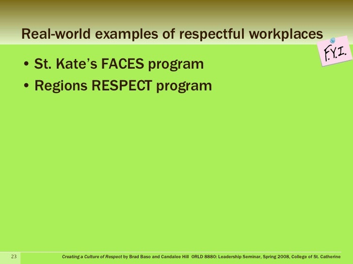Creating A Workplace Culture Of Respect And Trust