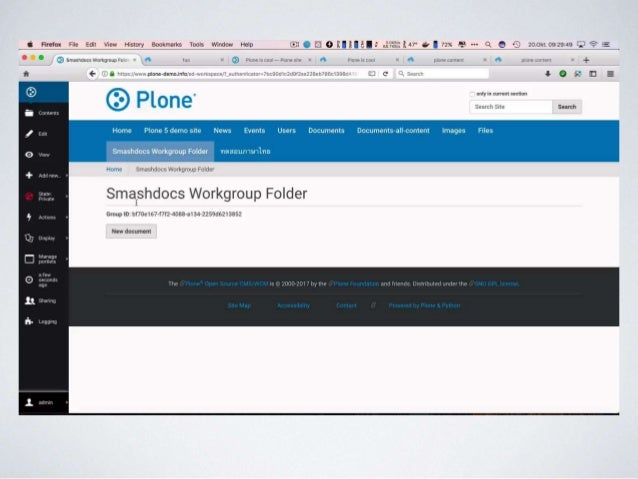 Creating Content Together - Plone Integration with SMASHDOCs Slide 3
