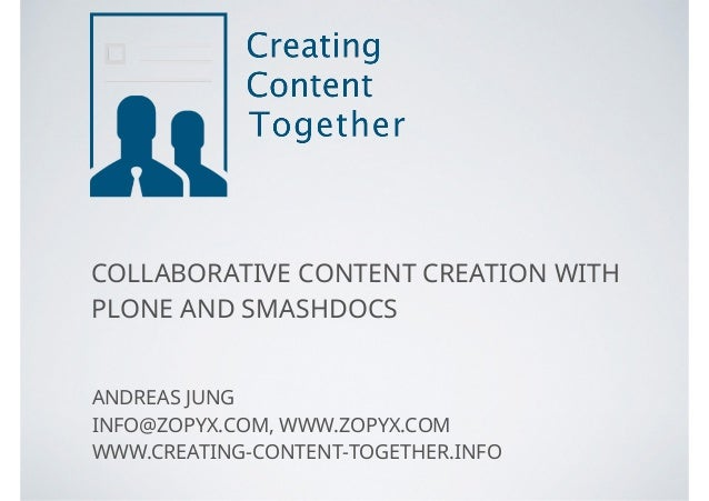 COLLABORATIVE CONTENT CREATION WITH 