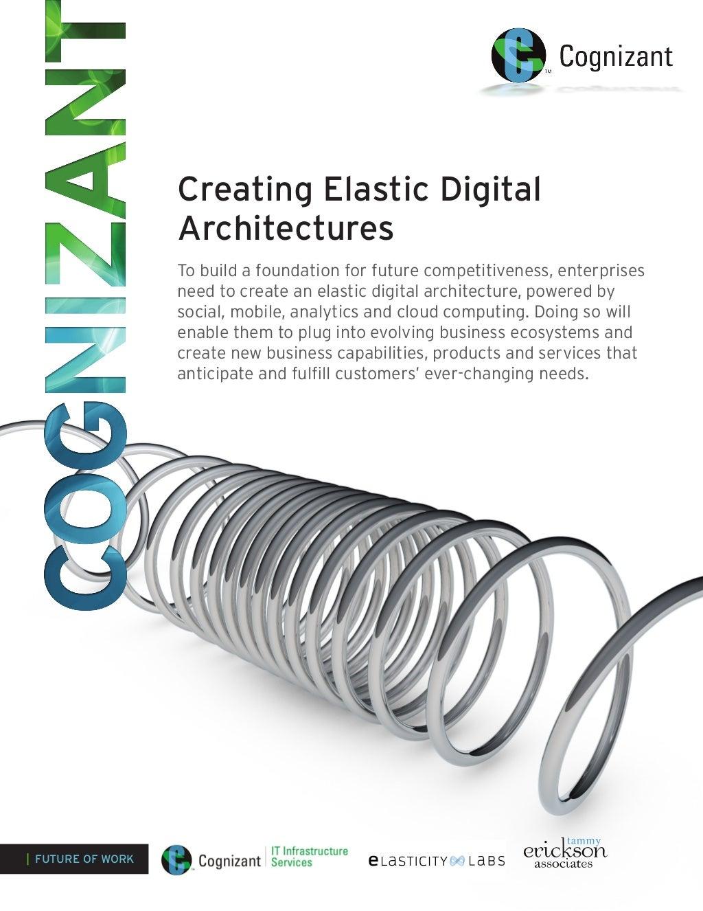 Creating Elastic Digital Architectures