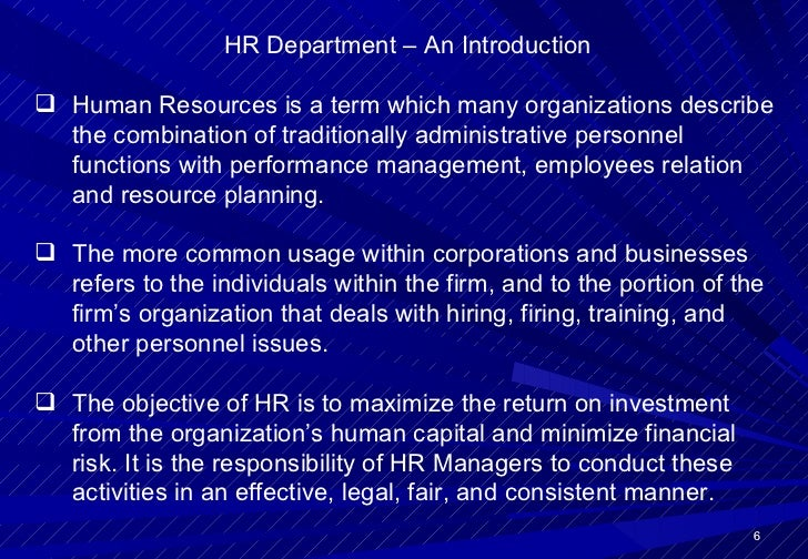 Human Resource SWOT Analysis