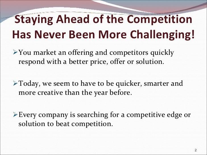 Creating synergy - Between Sales, Marketing & Customer Service Slide 2