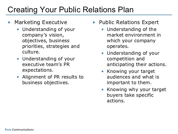 Creating your measurable pr plan for Public relations plan template free